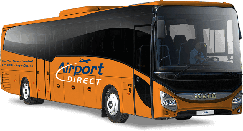 Keflavik Airport Bus Transfer to and from Reykjavik Iceland